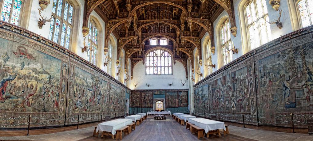 Hampton Court interior